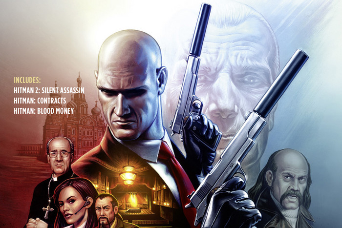 Hitman: HD Trilogy box art