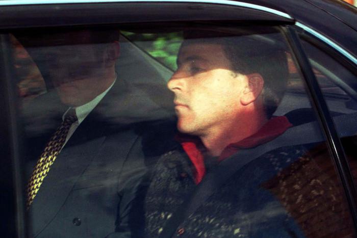 Scott Watson at Christchurch District Court (Getty, 1998)