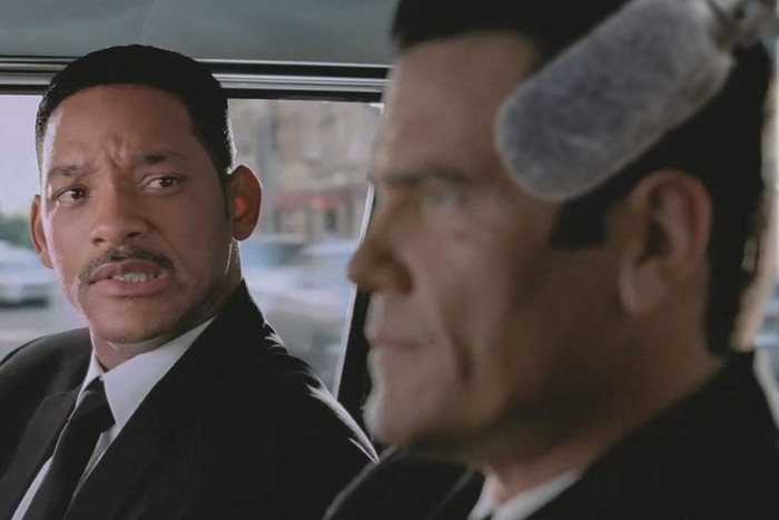Digitally altered image from Men in Black III