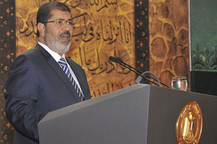 Egypt's President Mohamed Morsi (Reuters)