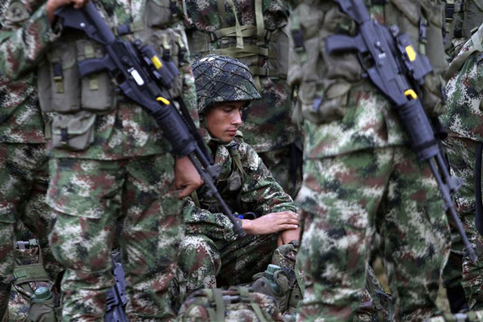 The Colombian army is refusing to honour a cease-fire with FARC, (file, Reuters)
