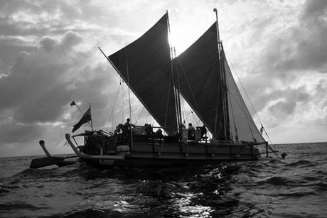 Te Aurere had 55,000km of sailing racked up before the journey (Te Tai Tokerau Tarai Waka)