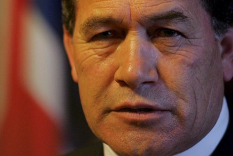 New Zealand First leader Winston Peters  (file)