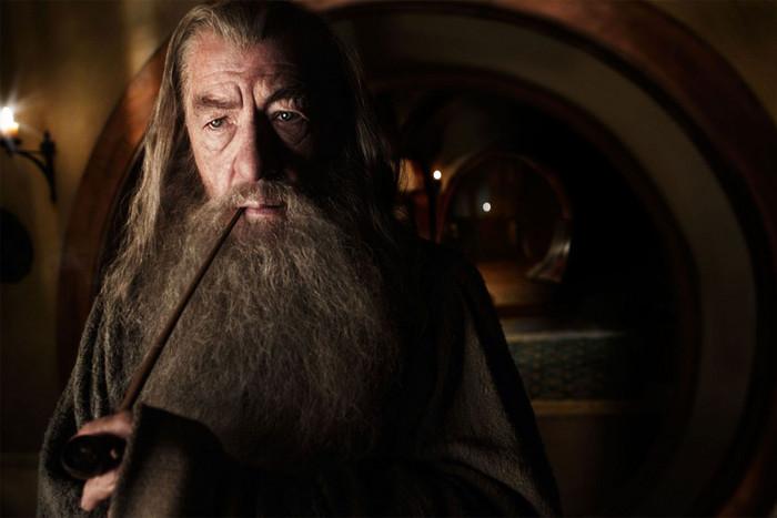 Sir Ian McKellan as Gandalf