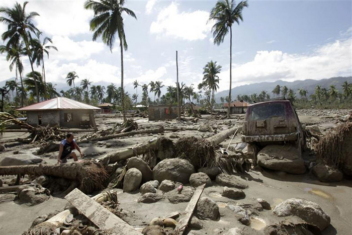 The Philippines says more countries will face deadly typhoons if climate change is left unchecked (Reuters)