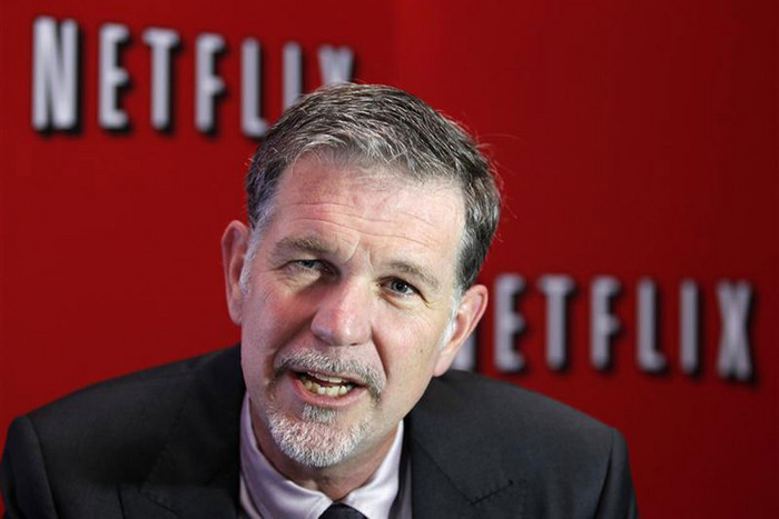 Netflix's Chief Executive Officer Reed Hastings (Reuters)