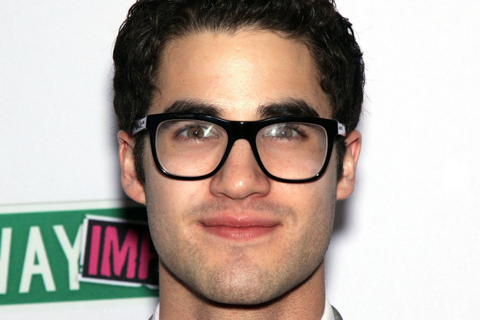 Glee's Darren Criss (AAP)