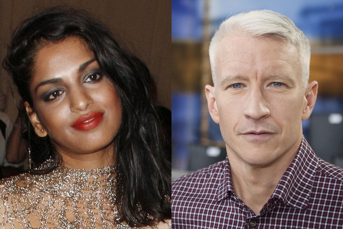 M.I.A. and Anderson Cooper (Photos: Reuters)