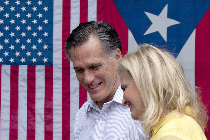 US Republican presidential candidate and former Massachusetts Governor Mitt Romney (Reuters)