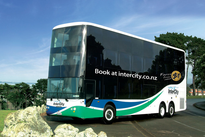 Intercity Coachlines will launch a triple-decker bus