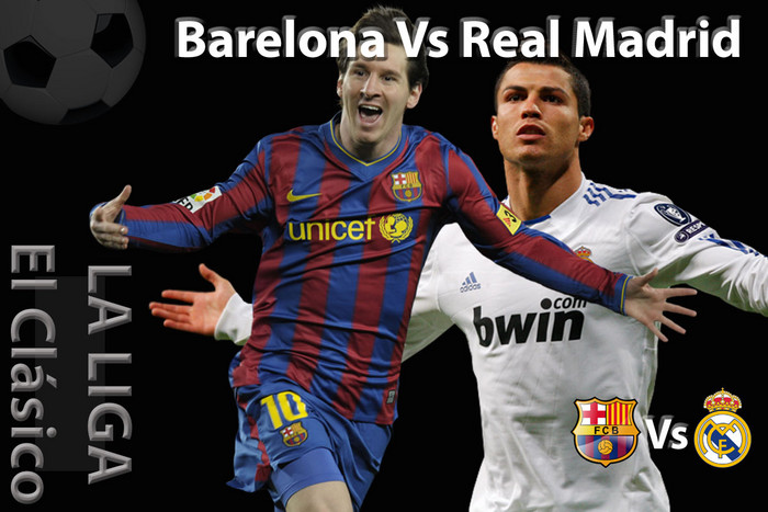Who will be saying look at me at the end of 90 minutes - Lionel Messi, left, or Cristiano Ronaldo?