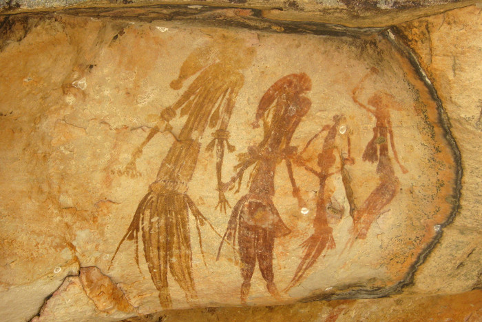 Rock art in the Northern Territory (AAP file)
