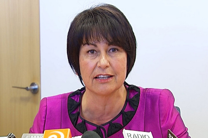 Hekia Parata at today's press conference