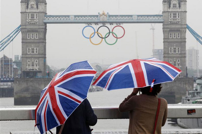 About 10,500 athletes are expected to compete in London, representing more than 200 national Olympic committees (Reuters)