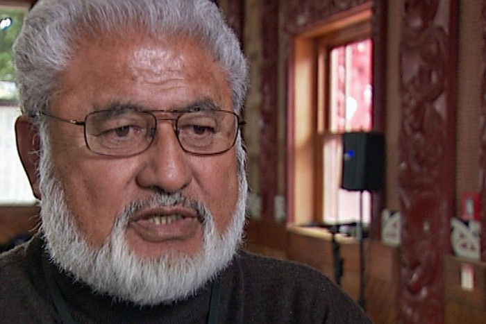 Maori Council co-chair Maanu Paul
