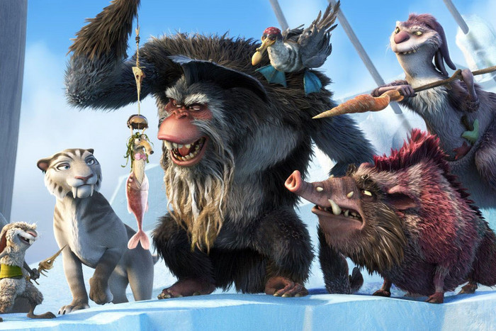 Still from Ice Age 4