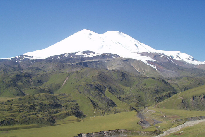 Christine Burke recently reached the summit of Mt Elbrus in Russia