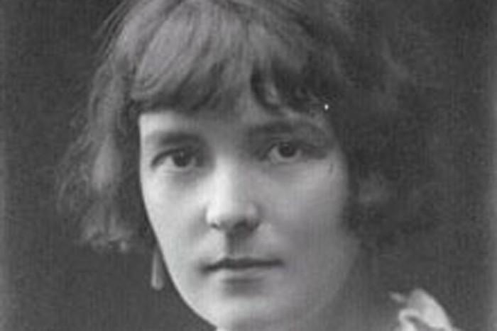 New Zealand author Katherine Mansfield