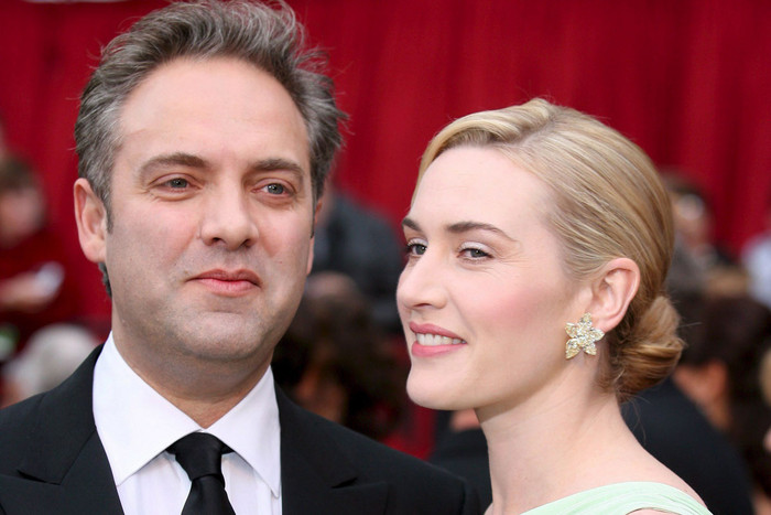 Kate Winslet and Sam Mendes (AAP)