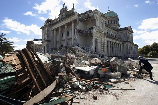 Christchurch's Catholic Cathedral (Reuters)