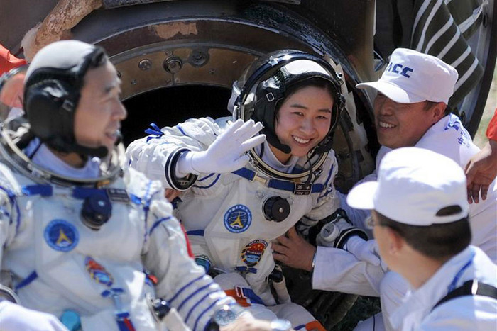 Liu Yang, China's first female astronaut (Reuters)