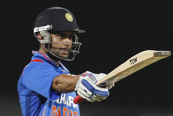 Virat Kohli scored a half-century