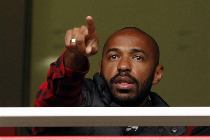 New York Red Bulls captain Thierry Henry (Reuters)
