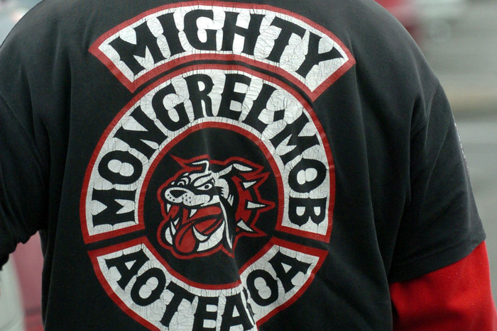 Hutt Valley area commander Inspector Mike Hill has confirmed Mr Mulholland had Mongrel Mob connections (file pic)
