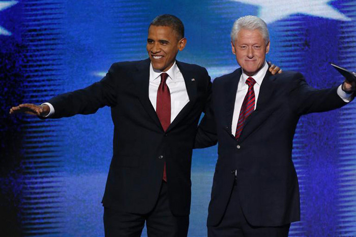 Obama and Clinton (Reuters)