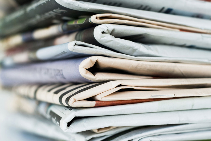Demand for newsprint is dropping