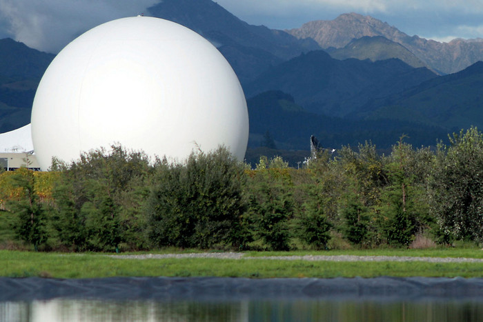 The Waihopai spy base near Blenheim (file)
