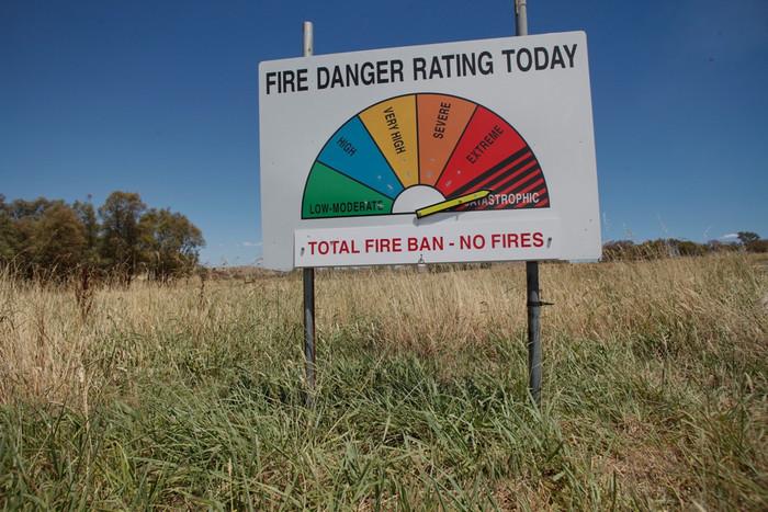 The fire danger in Australia was catastrophic last week (Reuters)