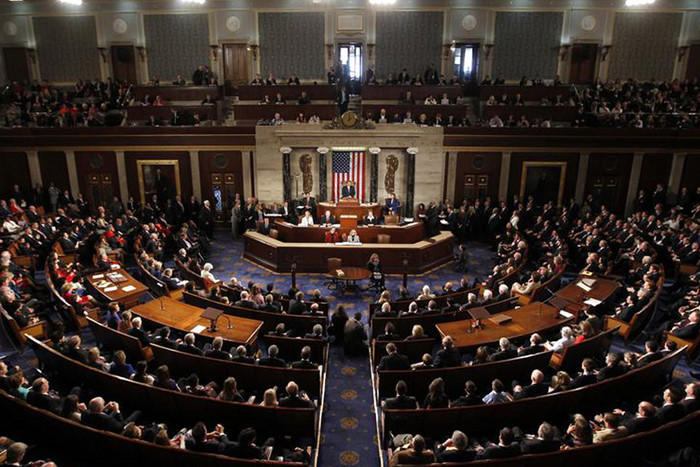 The US Congress is deeply divided over how to increase the country's debt limit (Reuters file)