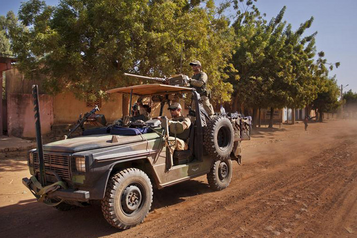 French Elite Special Operations soldiers in Mali (Reuters)