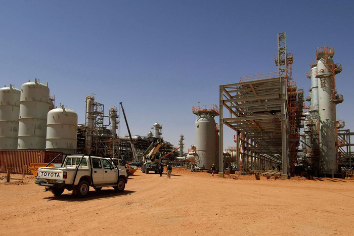 The gas facility in Ain Amenas, Algeria (AAP)