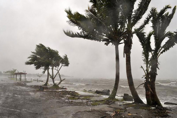 Cyclone Evan caused damage in both Samoa and Fiji (file, Reuters)