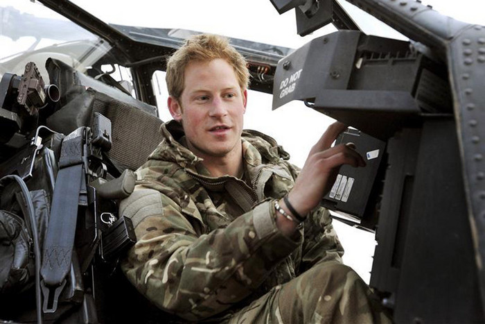 Prince Harry has admitted killing Taliban fighters in Afghanistan (Reuters)