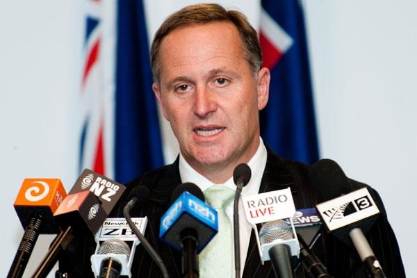 Prime Minister John Key (file pic)