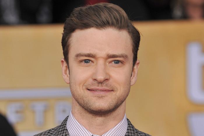 Justin Timberlake at this week's SAG Awards (AAP)