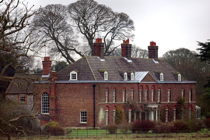 Anmer Hall on the Royal Sandringham Estate in Norfolk (AAP file)