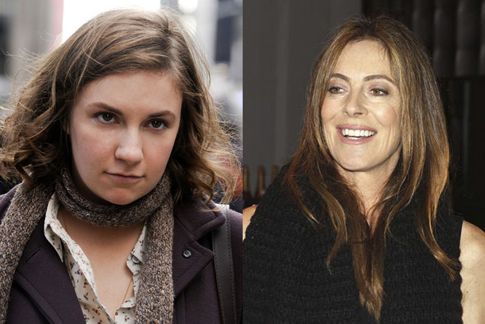 Lena Dunham in Girls; Kathryn Bigelow (Reuters)