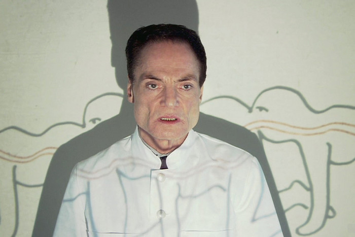 Dieter Laser in The Human Centipede (First Sequence)