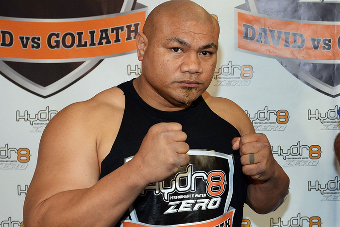 Kiwi boxer David Tua (photosport file)