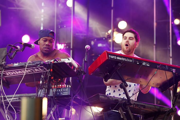 Rudimental performing live (Reuters)