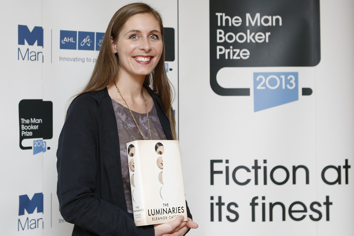 The Luminaries author Eleanor Catton (Reuters)