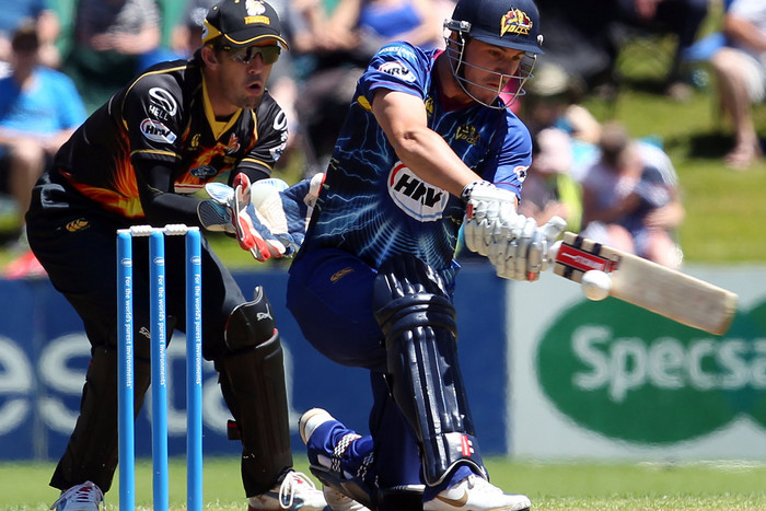 Otago Volts opening batsman Hamish Rutherford the only new cap (Photosport file)