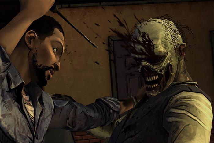 Still from Telltale's The Walking Dead