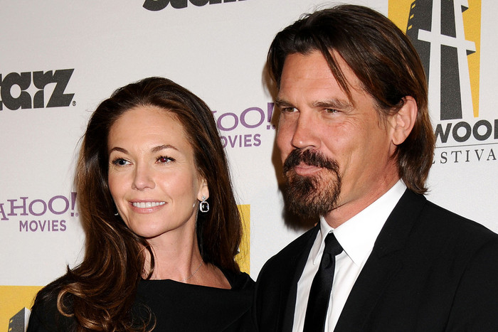 Josh Brolin and Diane Lane (AAP)