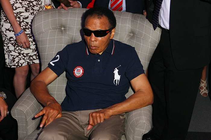 Muhammad Ali attends the US Olympic Committee Benefit Gala (Reuters, 2012)
