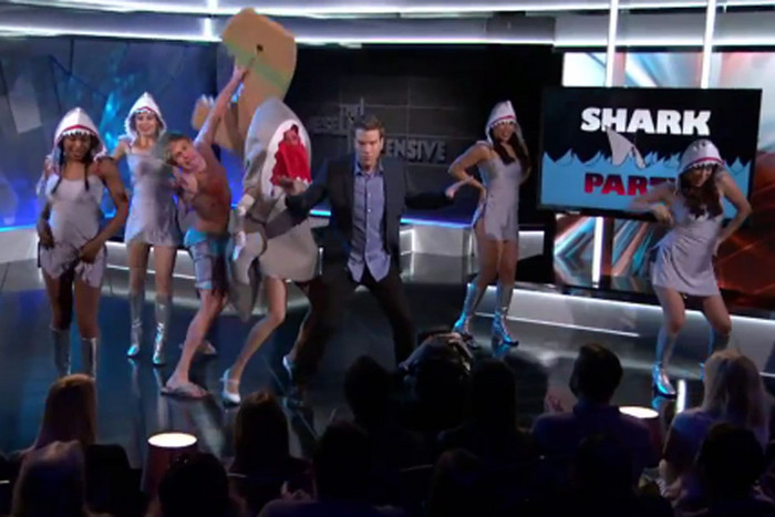Anthony Jeselnik and his 'Shark Party'